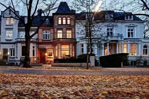 autumn houses